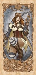 Batgirl disegnata da Luca Maresca