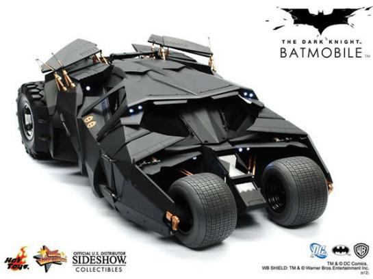 Batmobile nella trilogia di Christopher Nolan