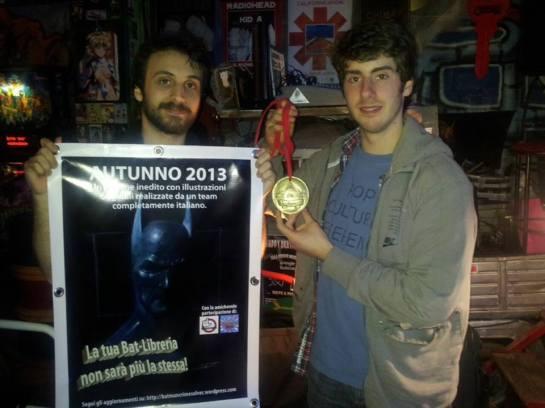 Vittorio Astone e Lorenzo Magalotti premiati