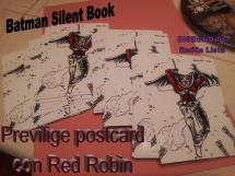 Privilege Postcard - Red Robin di Emilia Lista