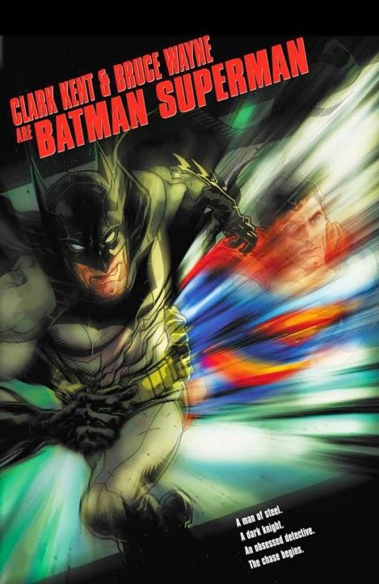 Batman-Superman # 20 ispirata da Il fuggitivo, con copertina di Tony Harris