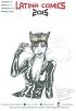 Sketch di Giulia La Mura redatto durante il Latina Comics 2015 - Catwoman