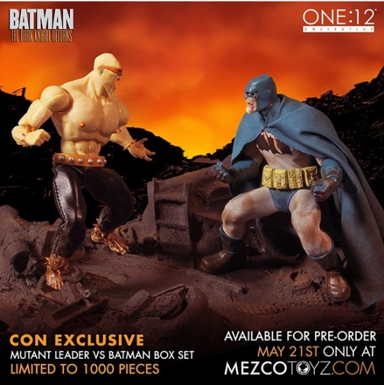 The Dark Knight Returns Action Figure Set Deluxe