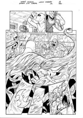 Le Sirene di Gotham #24 - Apparso qui in Italia su LE SIRENE DI GOTHAM N.4: Divisione edito da RW Lion by Lorenzo Ruggiero